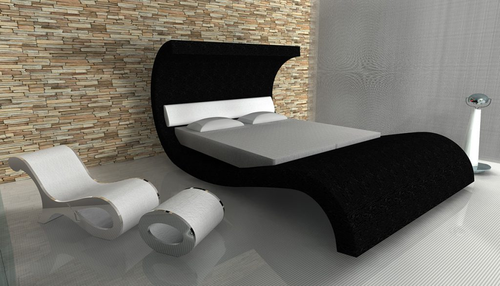 dark Wave Bed