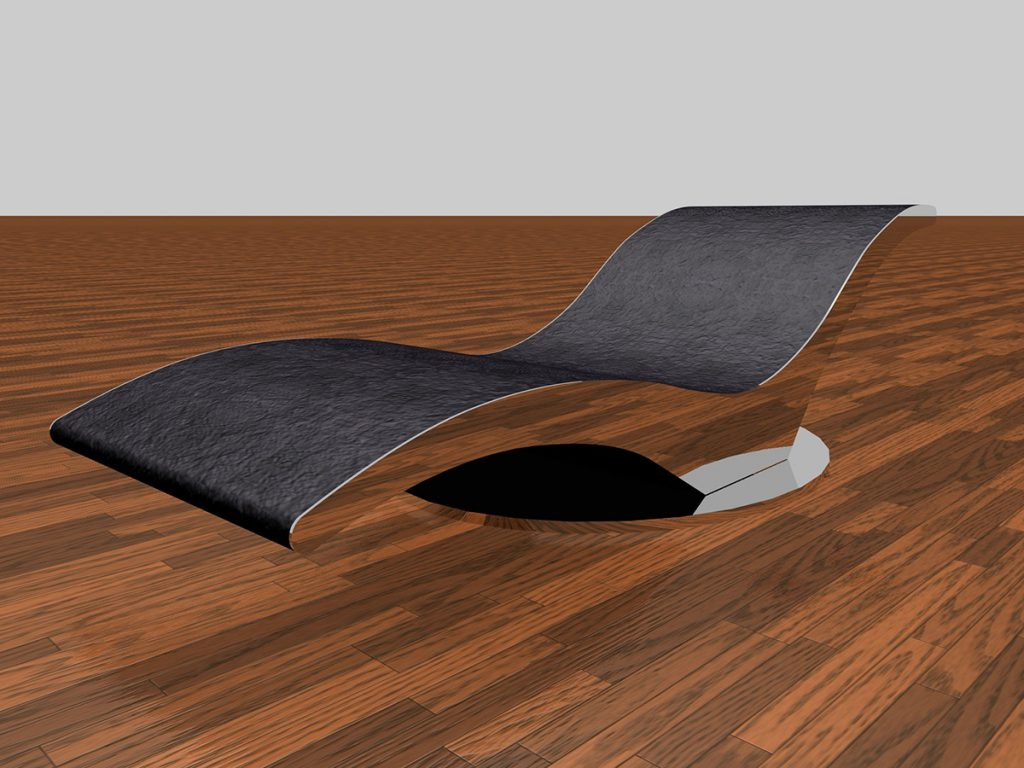wing chaise-longue